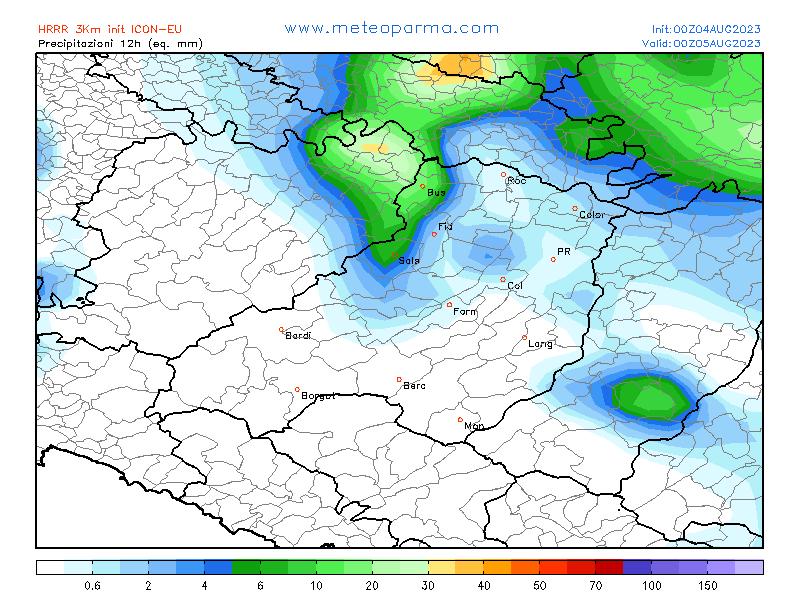 Meteo Parma Provincia Di Parma